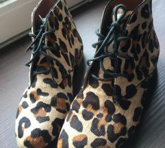 Zara leopárdmintás BŐR cipő