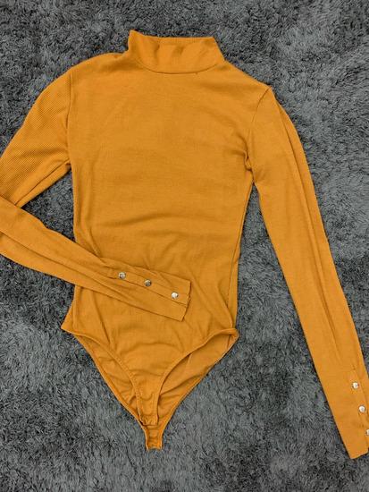 Zara mustársárga  body