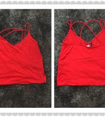 H&M piros top