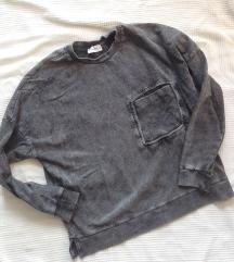 Pull and Bear szürke pulóver