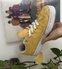 Citromsárga ellesse cipő