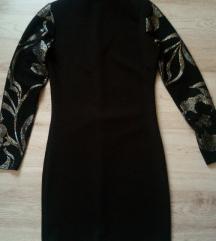 My 77 fekete-arany alkalmi ruha