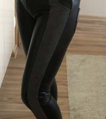 Bőrhatású jeggins/leggings