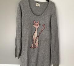 Reserved kötött pulóver