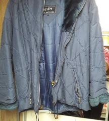 Kék címkén XS-es téli kabát