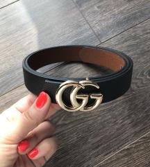 Új Fekete Gucci öv