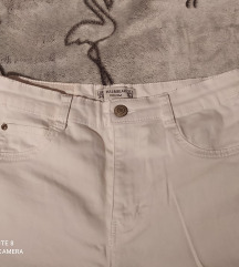 Pull&Bear high waist fehér farmer 34/XS (skinny)