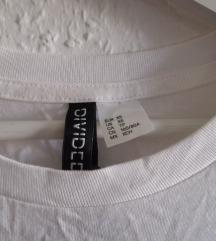 H&M XS fehér crop top hibátlan újszerű