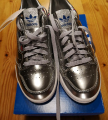 Adidas Originals Continental 80 Silver Metallic