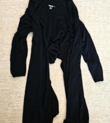 DKNY Cozy fekete multiway kardigán