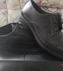 Bőr alkalmi cipő 41-es