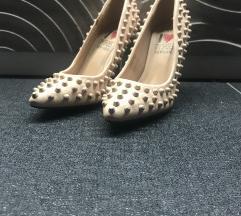 leáraztam! | ÚJ Bézs szegecses cipő