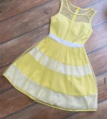 Sárga alkalmi ruha