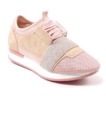 Új rózsaszín sportcipő