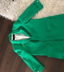 Zara basic zöld blézer zakó