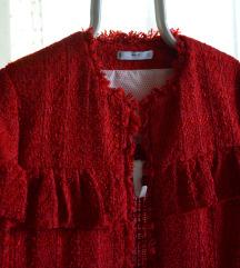Mango piros fodros kabátka