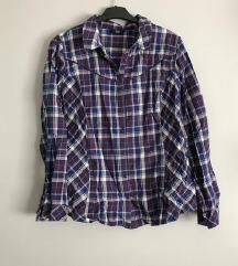 női kockás ing