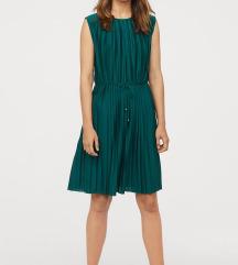 H&M Plisszírozott ruha