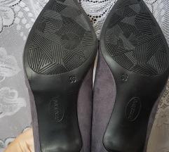 Graceland szürke törpesarkú cipő(ingyen pos, Tatabánya