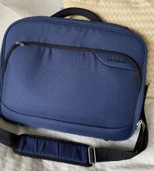 Samsonite sötétkék laptop táska