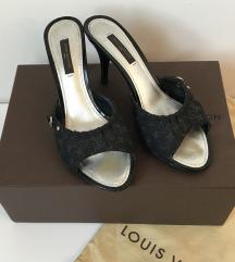 Eredeti Louis Vuitton magassarkú papucs 36,5 24cm