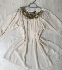 H&M gyöngyös elegáns blúz tunika