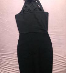Fekete alakformáló ruha