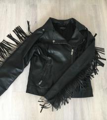 fekete bőrkabát