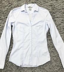 H&m alkalmi karcsúsított babakék ing új