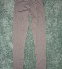 Calzedonia mogyoró színű pamut leggings új S