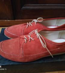Velúr bőr félcipő piros e906316367