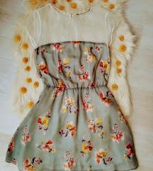 Zara virágos-tüllös ruhácska M