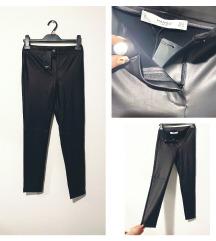 Mango S-es bőr leggings