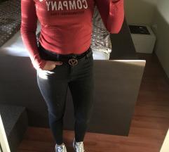 RETRO jeans hosszú ujjú póló