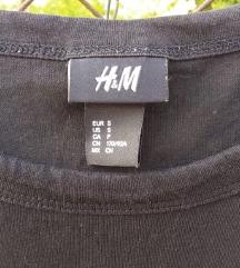 H&M fekete-arany póló