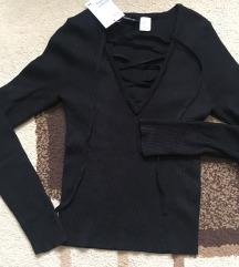 H&M új pulóver felső XS/S