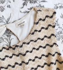 Bézs csipkés vintage ruha