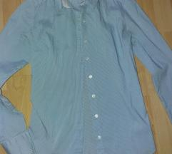 Csíkos, női karcsúsított ing