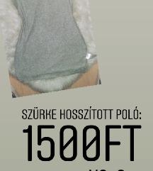 Szurke hosszitott polo