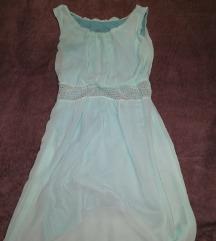 Világos kék ruha