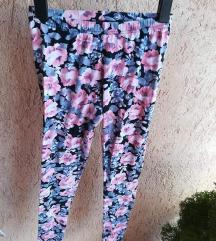 Virágos legging