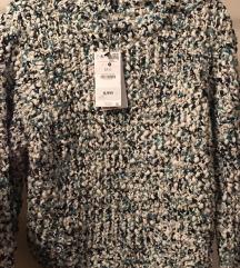 ÚJ bershka vastag pulóver