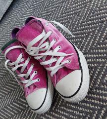 Converse bársony cipő