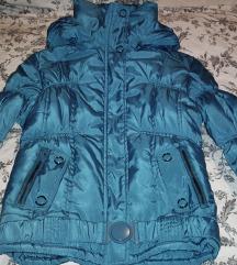Közép kék dzseki újszerű állapotban!