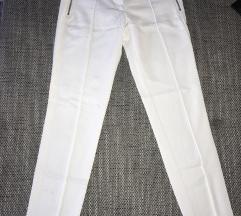 Zara Basic fehér nadrág hibás cipzárral S