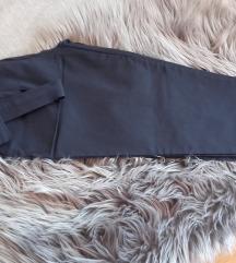 AKCIÓ Stream Fashion sötétkék paperbag nadrág  S