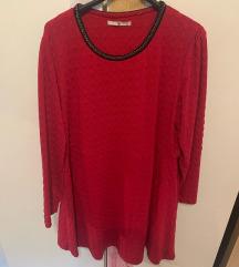 XXL-es méretű rózsaszín ruha/tunika