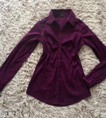 Padlizsán színű ing