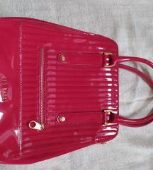 Piros lakkozott női táska