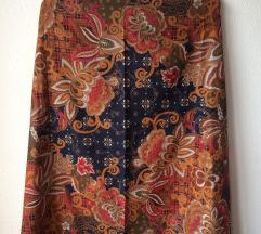 Gyönyörű virágos vintage sál